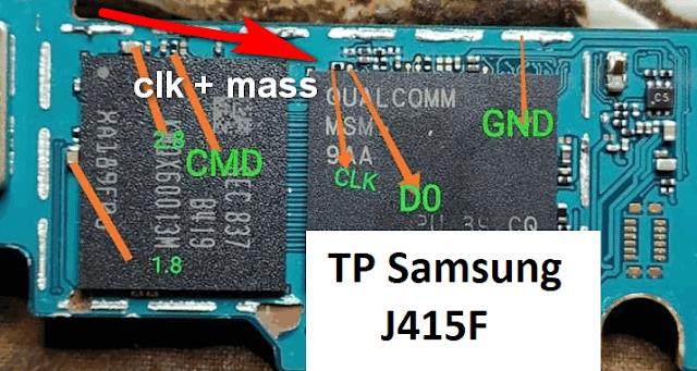 testpoint samsung j415f