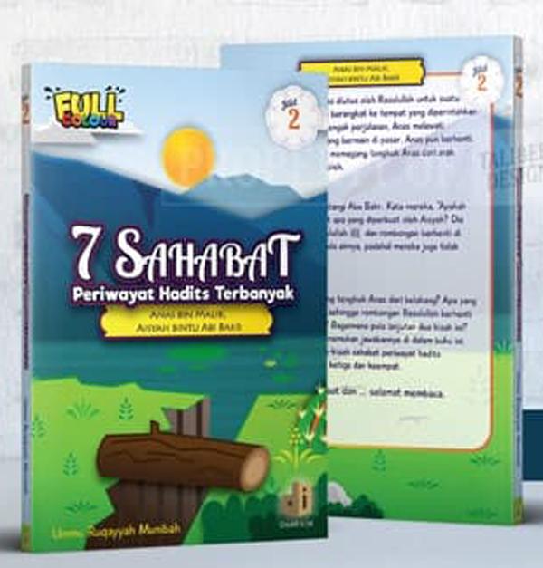 Buku Anak 7 Sahabat Periwayat Hadits Terbanyak Jilid 2 Daar Ilmi