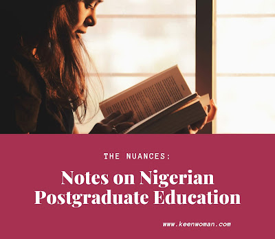 postgraduate education in Nigeria