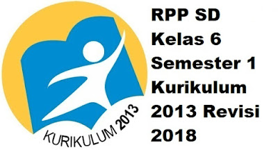 RPP SD Kelas 6 Semester 1 Kurikulum 2013