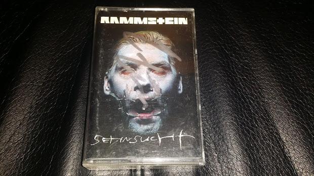 Rammstein Sehnsucht Album Cover