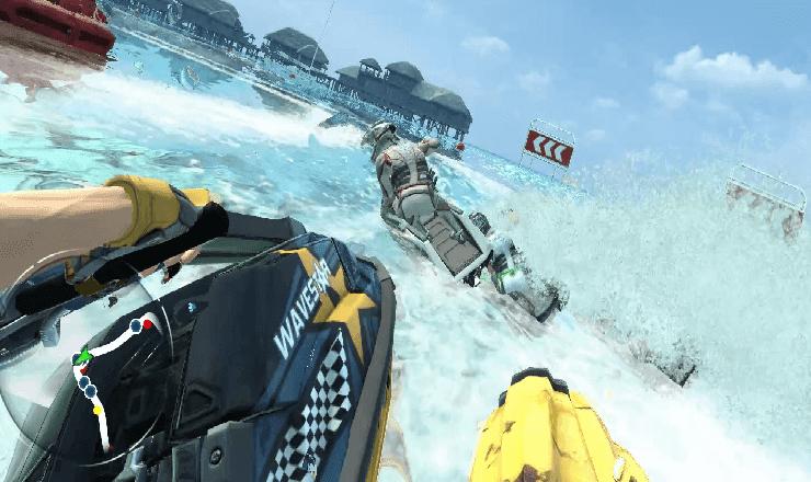 تحميل لعبة الموتوسيكلات المائية aqua moto racing utopia