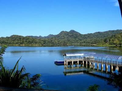 Sermo reservoir scenery