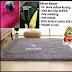 karpet  bulu rasfur 150 x 200 x 3 cm / karpet bulu / karpet lantai.