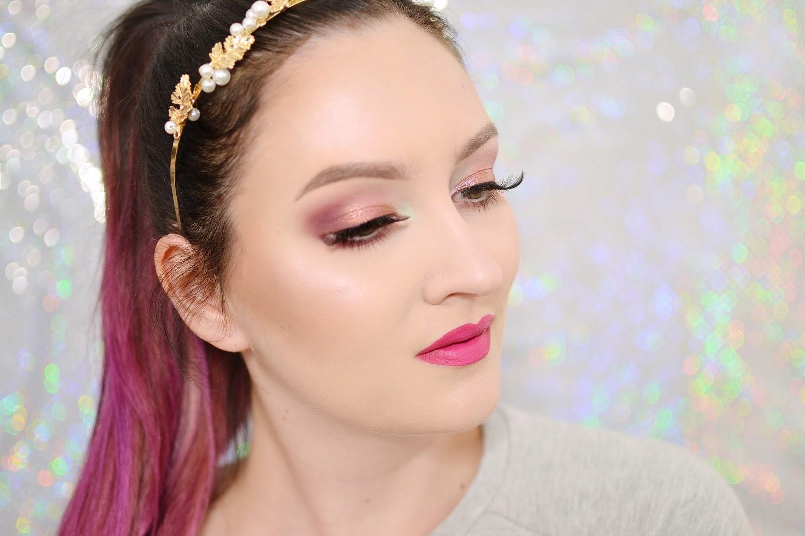 makijaż tutorial codzienny glam