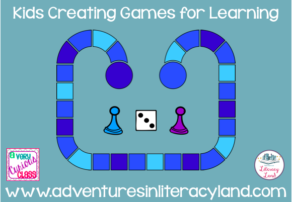 How can you use games to help students practice literacy skills? In my classroom, students have been creating games to take home based on their needs.