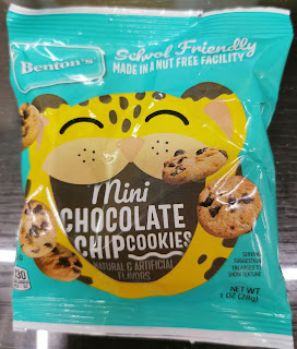 Individual bag of Benton's Mini Chocolate Chip Cookies, from Aldi