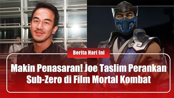 Makin Penasaran! Joe Taslim Perankan Sub-Zero di Film Mortal Combat
