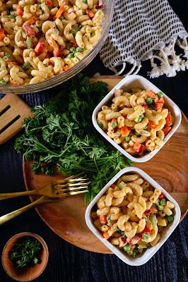 vegan macaroni salad recipe   vegan 4th of july recipe ideas
