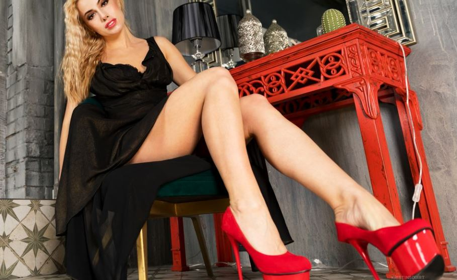 KristinWhite Model GlamourCams