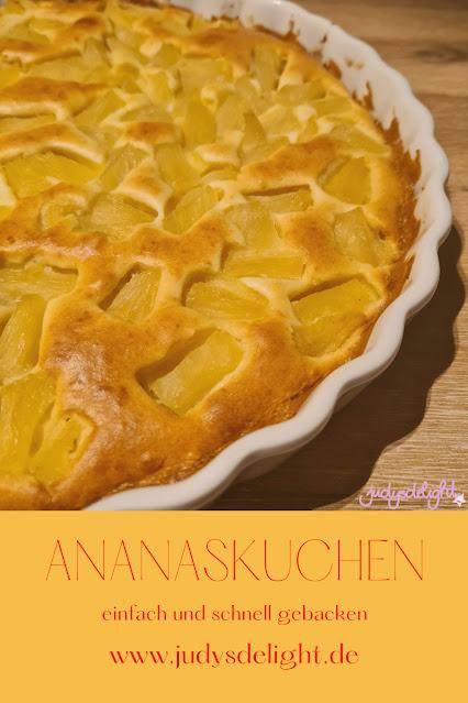 Ananaskuchen - schnell und einfach zubereitet