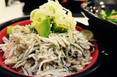 Healthy Soba IKI - shirasu avocado don