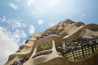 The Casa Mila building in Spain, near the best business hotels in Barcelona