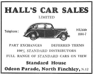 Finchley Coronation Brochure 1953 advert