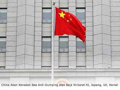 China Akan Kenakan Bea Anti-Dumping atas Baja Nirkarat RI, Jepang, UE, Korsel