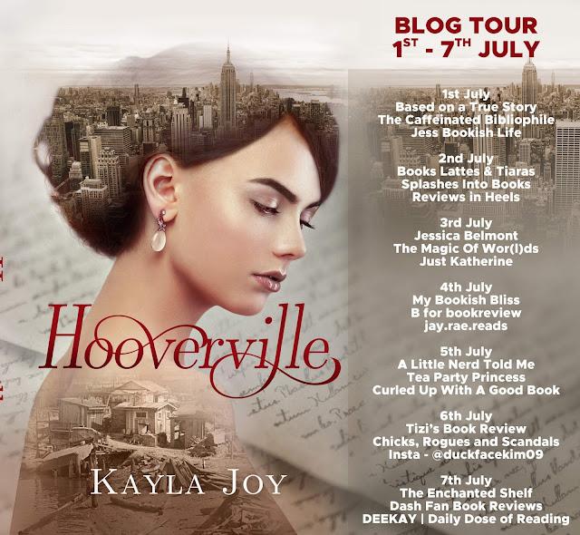 Hooverville by Kayla Joy blog tour banner