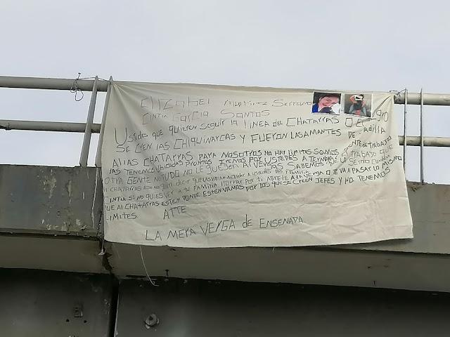 En Narcomanta amenazan a Las Chiquinarcas del CDS para nosotros no hay limites pronto iremos por ustedes