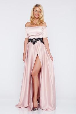 vestidos largos con escote en la espalda