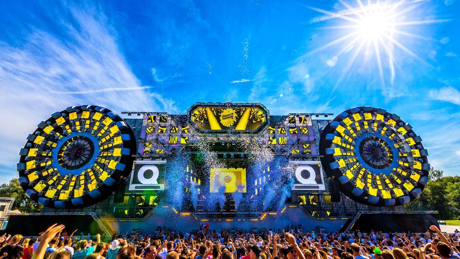 Top Party Destinations: Dance Valley Festival- Velsen, Netherlands