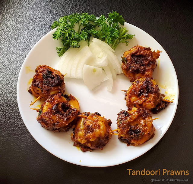 images of Tandoori Prawns / Tandoori Shrimp