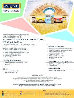 Info Lowongan Kerja PT. Nippon Indosari Cabang Batam