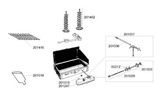 Coleman Dual Fuel zweiflammen Kocher. Ersatzteile, Reinigung und Reparatur - Anleitungen