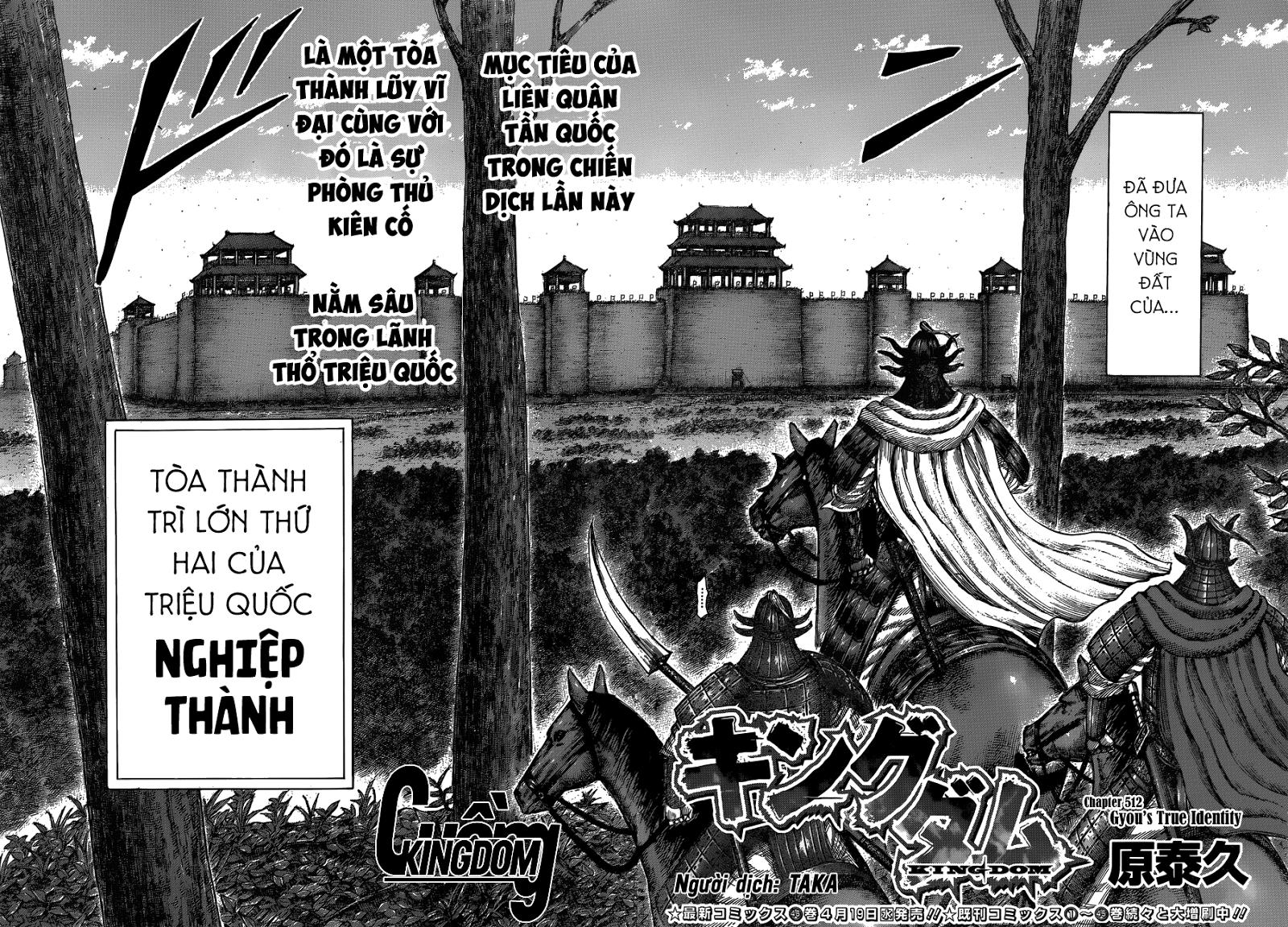 Kingdom - Vương Giả Thiên Hạ (HT) Chapter 512 - Hamtruyen.vn