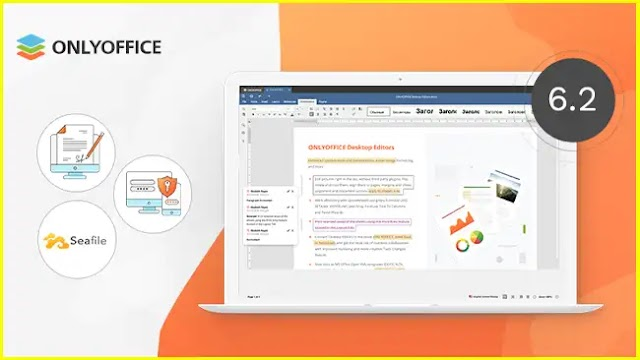 ONLYOFFICE Desktop Editors v6.2 released with digital signatures, integration with Seafile and more