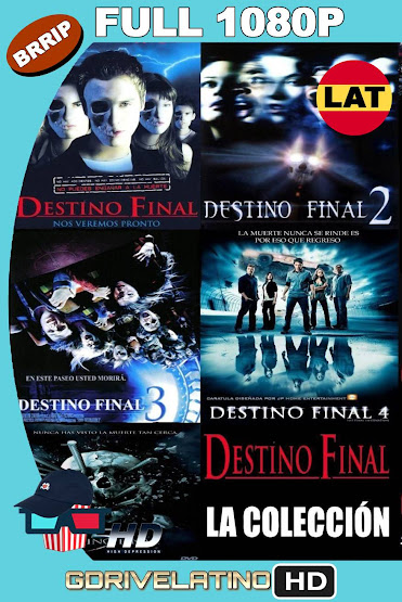 Destino Final (2000-2011) Saga Completa BRRip 1080p Latino-Ingles MKV