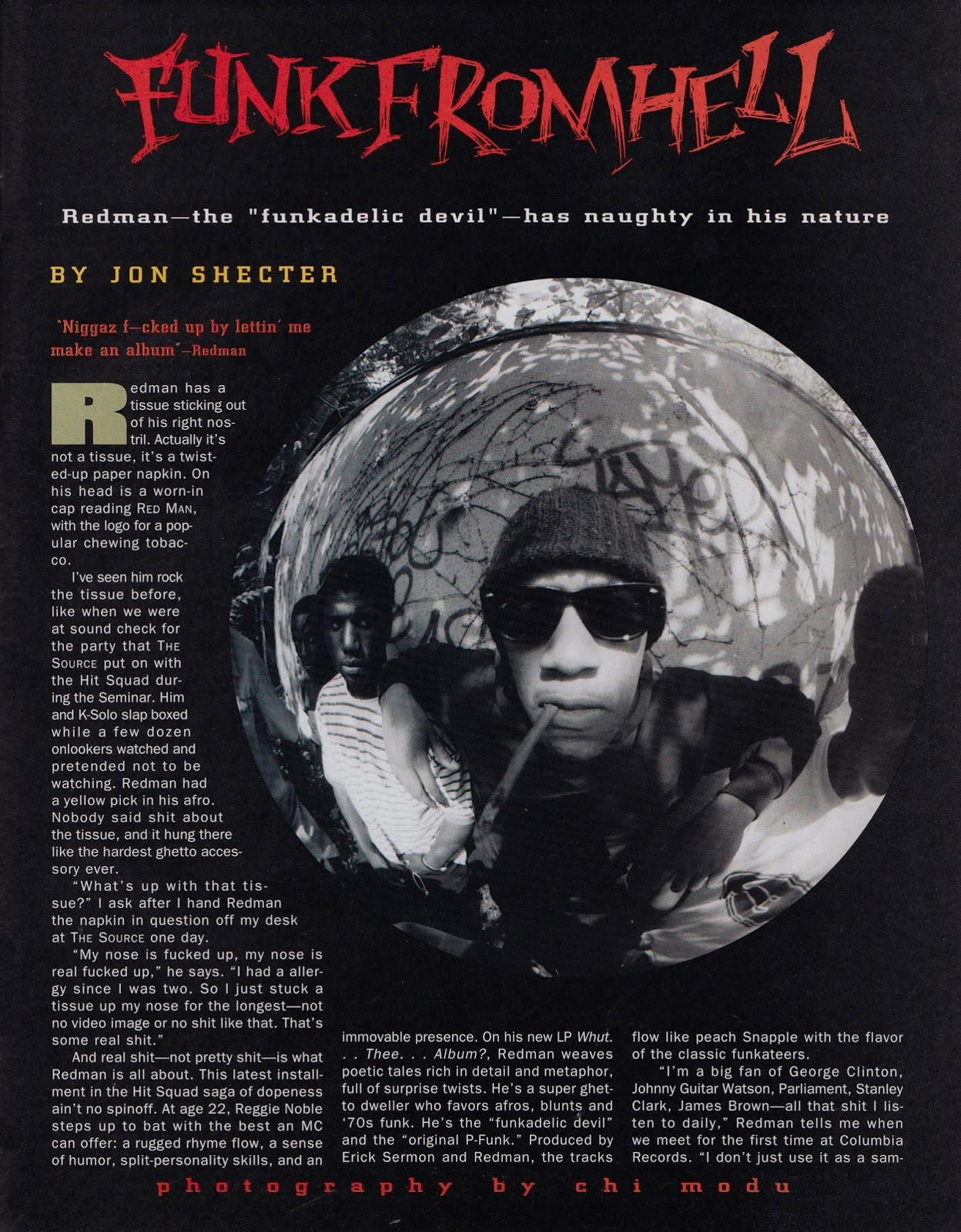 Redman 'Funk From Hell' (The Source, 1992)