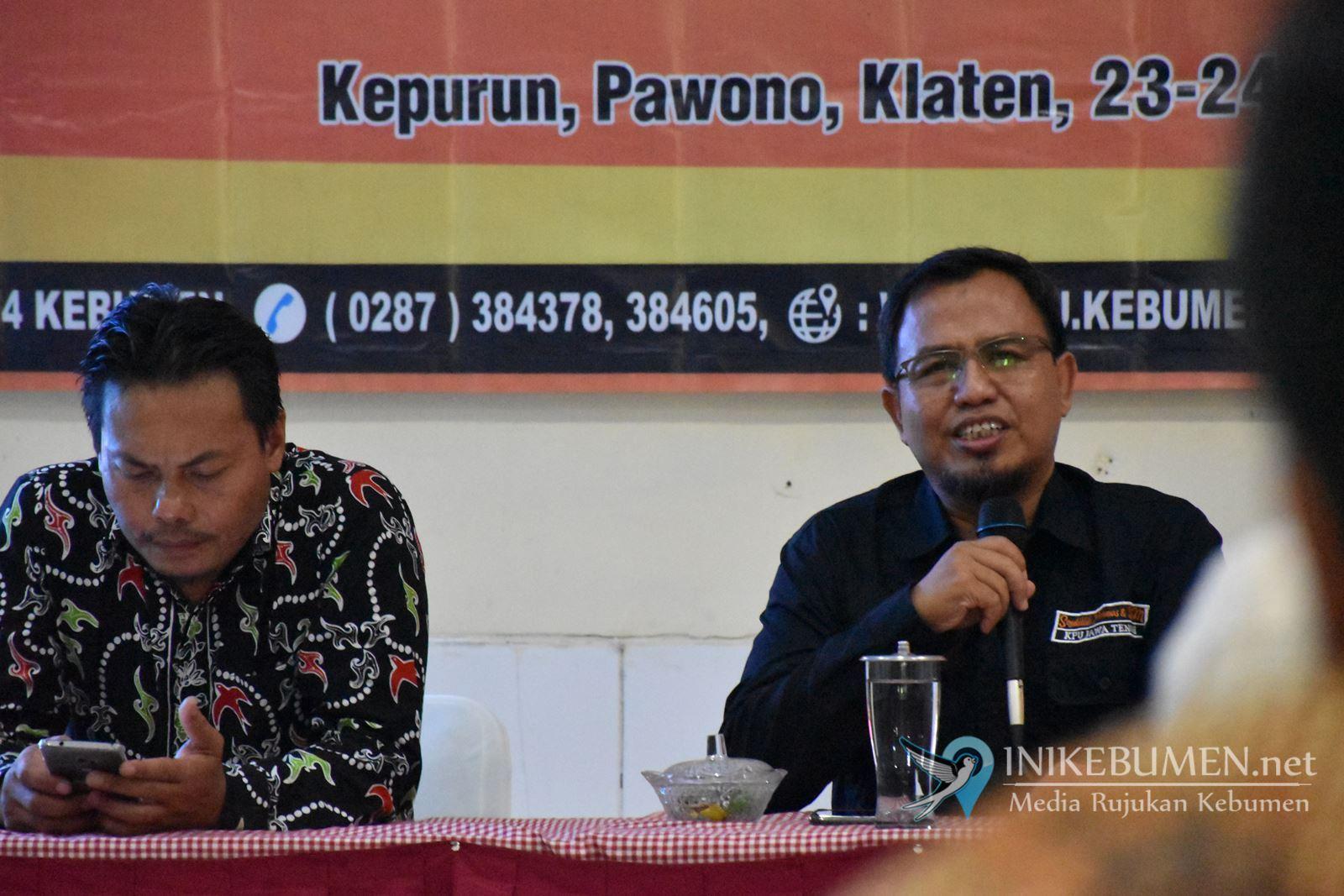Cegah Isu Politisasi Agama Jelang Pilbup, KPU Kebumen Kumpulkan Para Tokoh Agama
