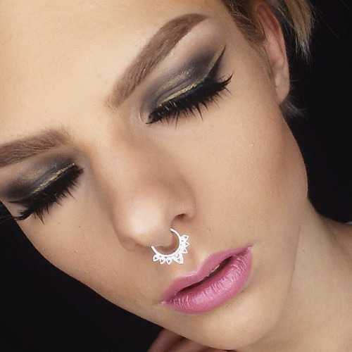 cross-dress Nose Ring