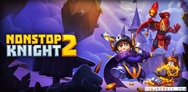 تحميل لعبة Nonstop Knight 2 v1.4.6 مهكرة للأندرويد (اخر تحديث) logo