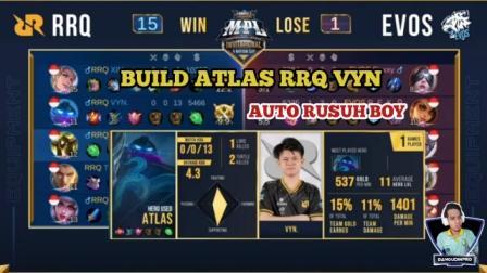 Build balmond RRQ VYN Terkuat