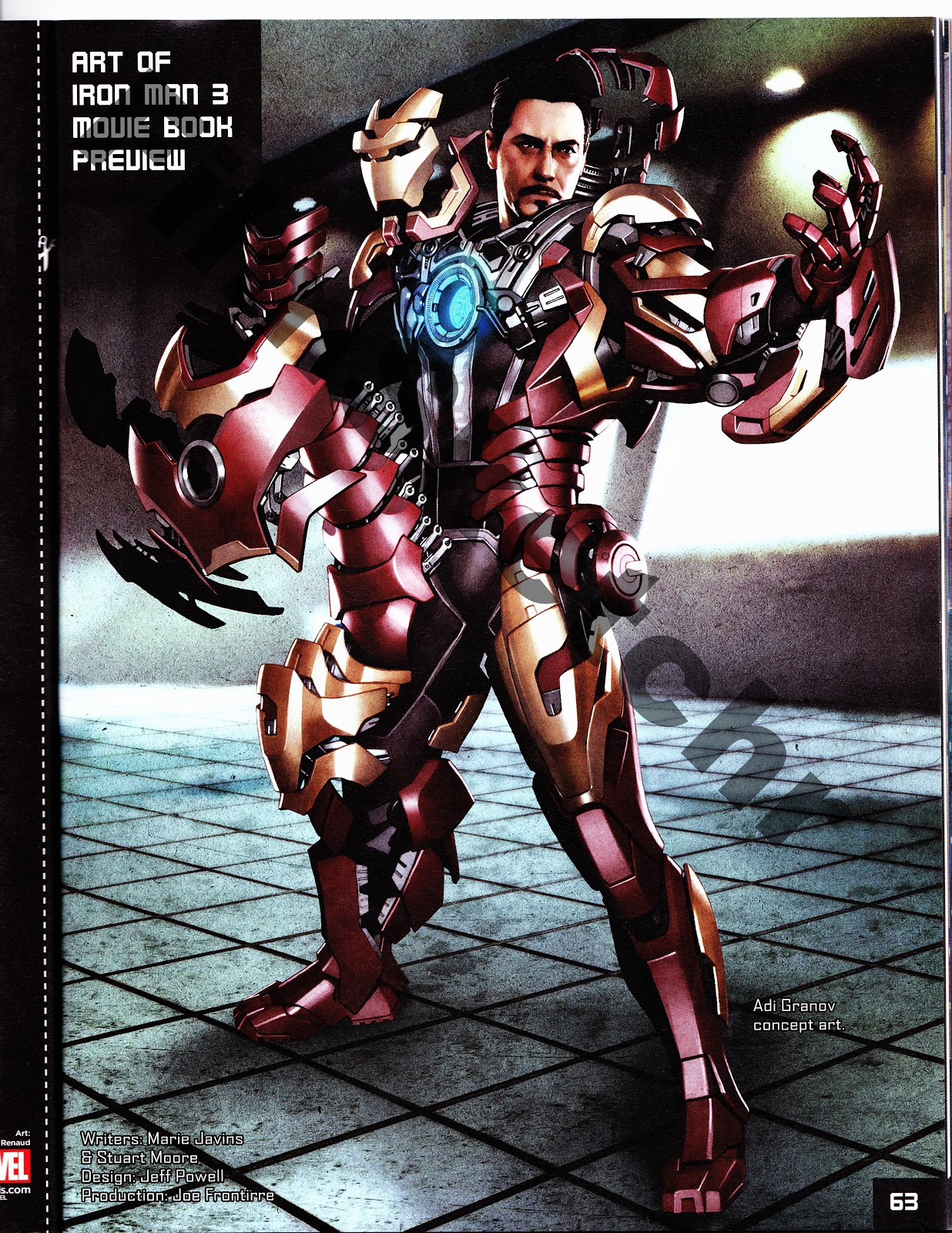 Exclusive: 16 Pages of ART OF IRON MAN 3 Book Preview ...