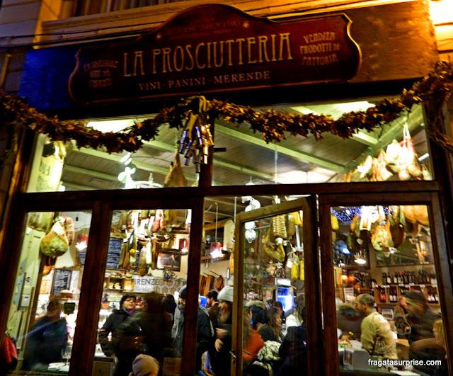 Restaurantes em Bolonha: La Prosciutteria