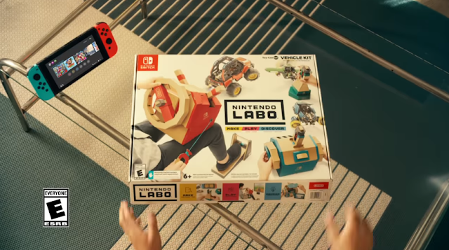 Nintendo Labo Vehicle Kit box Toy-Con 03