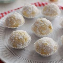 Receta para preparar galletas polvorosas de coco