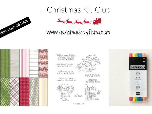 September Christmas Kit Club