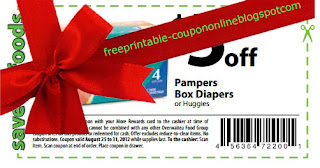 Free Printable Pampers Coupons