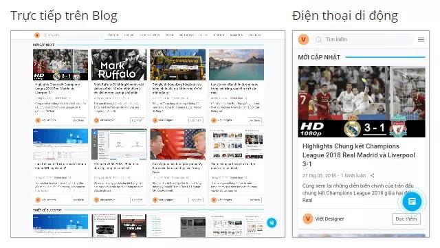 Cách nhận template blogspot miễn phí tại VeoSpot