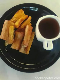 These fries are a perfect quick snack..one of those snacks that will make your stomach full, not in a bad way but in a great way. The great thing about these paleo cassava fries is that you just sprinkle salt and you are ready to enjoy them.