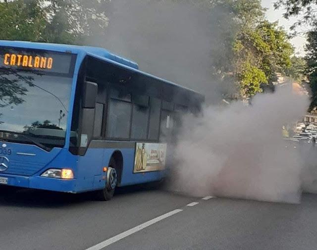 Atac: principio di incendio su una navetta integrativa della ferrovia Roma-Viterbo