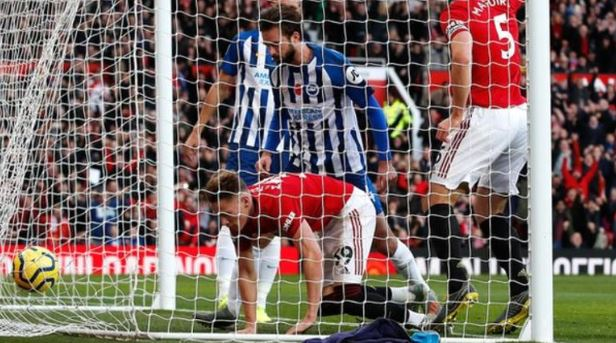 EPL: Manchester United move to seventh place after Brighton victory