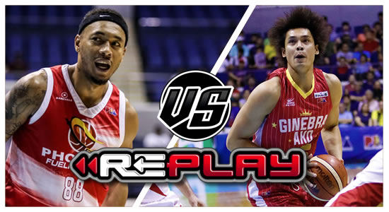 REPLAY: Phoenix vs Ginebra 2019 PBA Philippine Cup