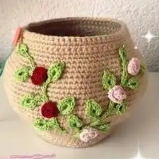 Cuenco a Crochet