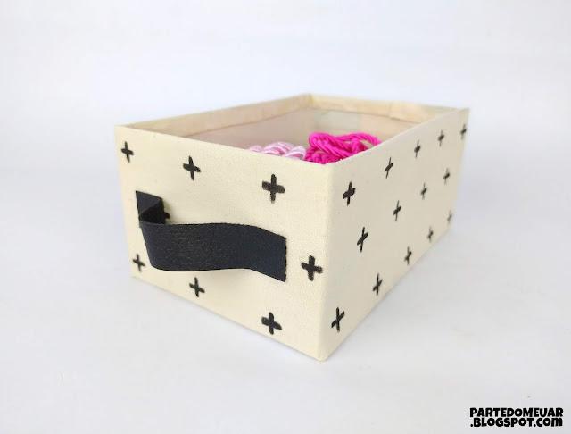caixa organizadora papelao