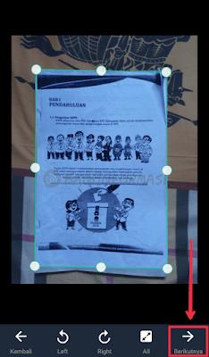 Cara scan dokumen di CamScanner