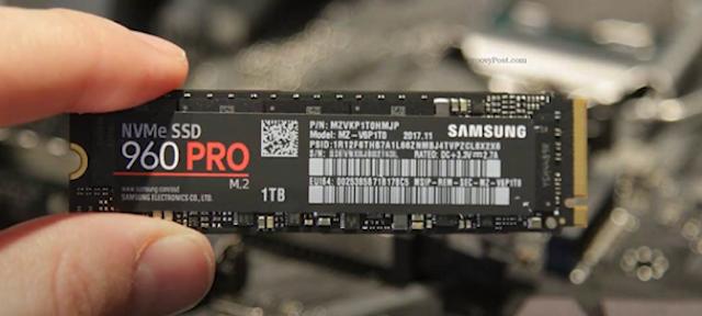 SSD NVMe có tốc độ đọc ghi nhanh gấp 3 đến 6 lần SSD Sata