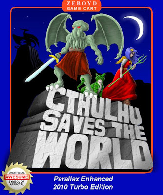 Album cover art for the Cthulhu Saves the World Original Soundtrack